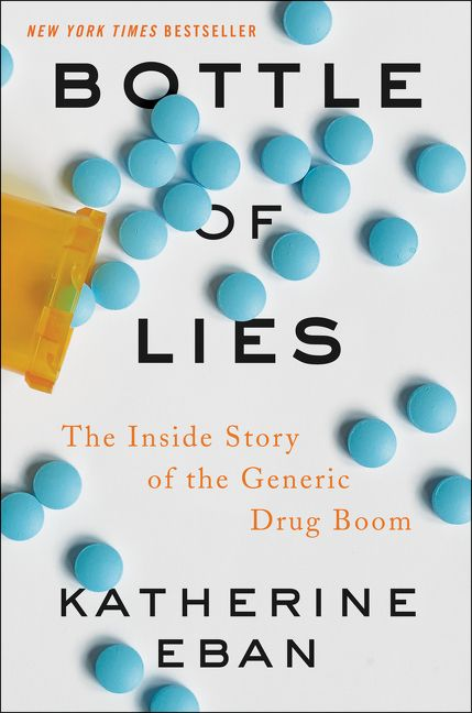 October 2: An Evening with Katherine Eban, Author of Bottle of Lies